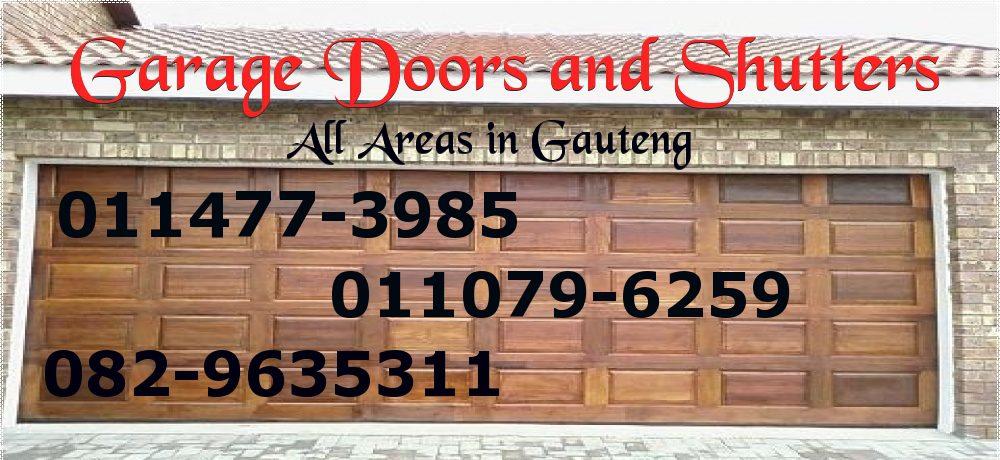 Garage Door Repairs Roller Shutter Doors 0829635311